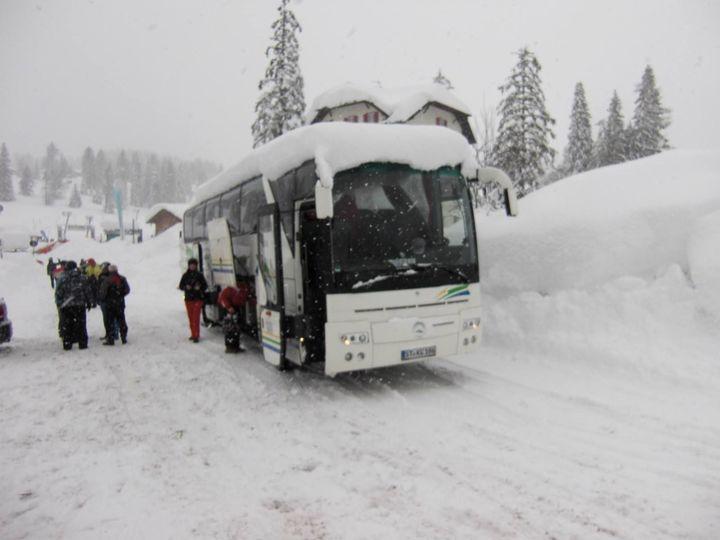 Tourismo Schnee