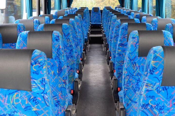 Reisebus Innenansicht